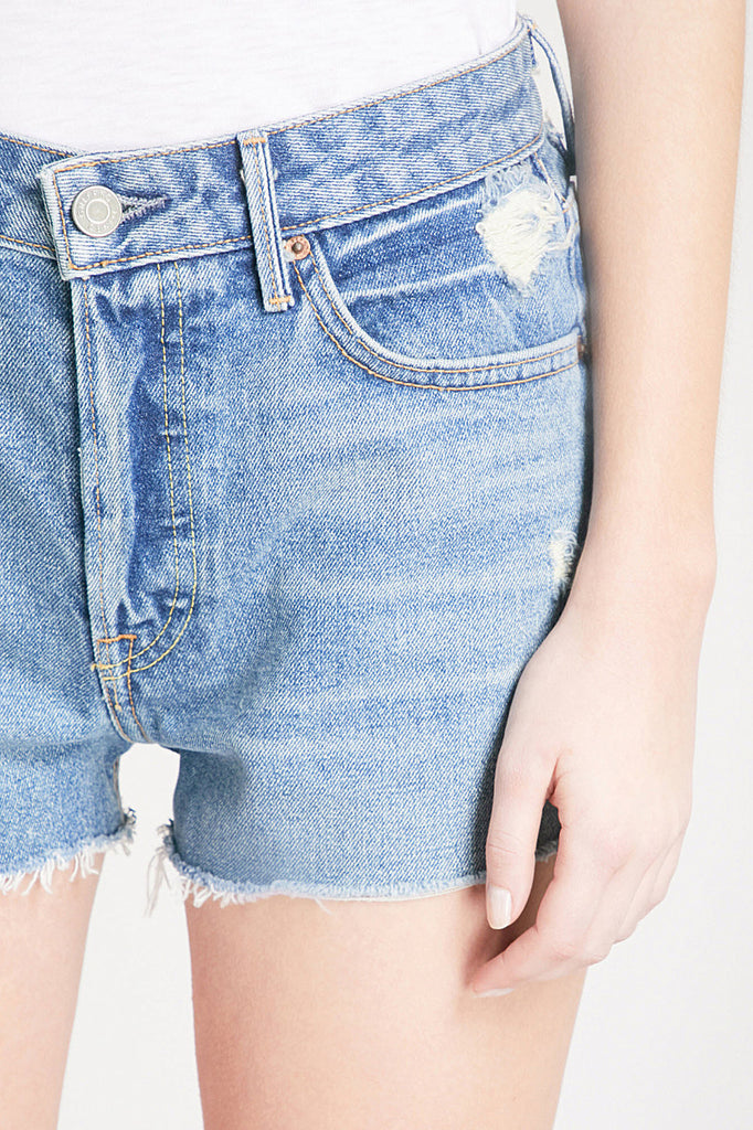 Grlfrnd Cindy High Rise Cut Off Shorts - Room 29