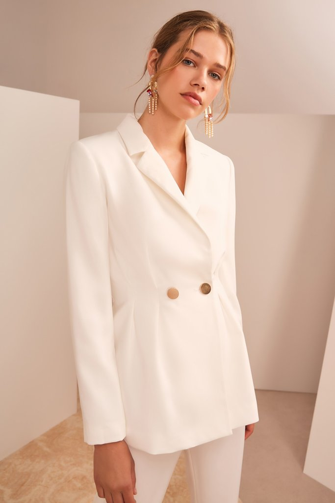 Keepsake Gone Again Blazer Ivory - Room 29