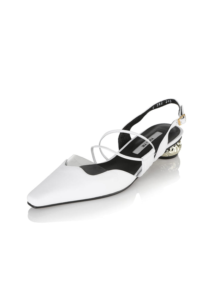Yuul Yie Zili Sandals 19RS-S382 White - Room 29
