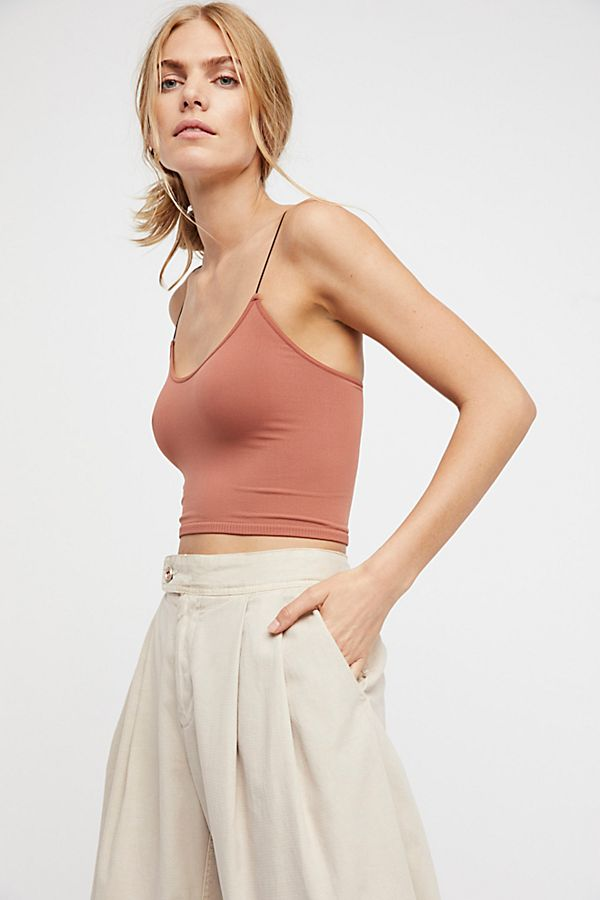 Free People Brami Skinny Tank Copper - Room 29