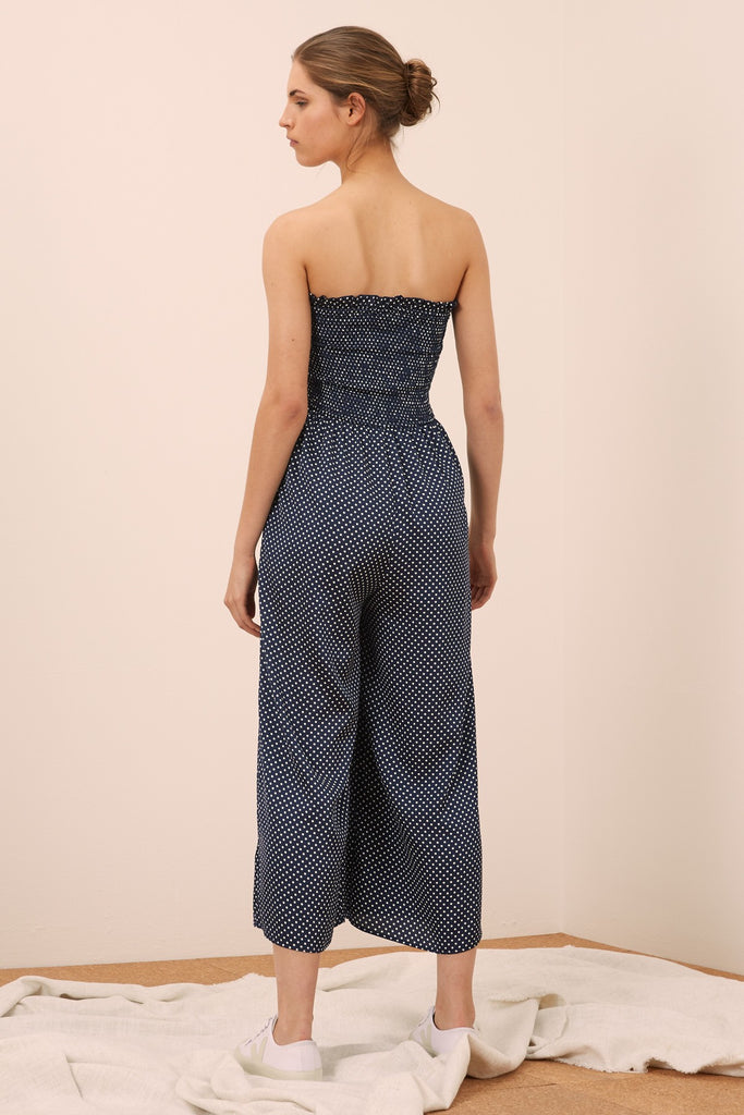 The Fifth Label Fountain Jumpsuit Navy - Room 29