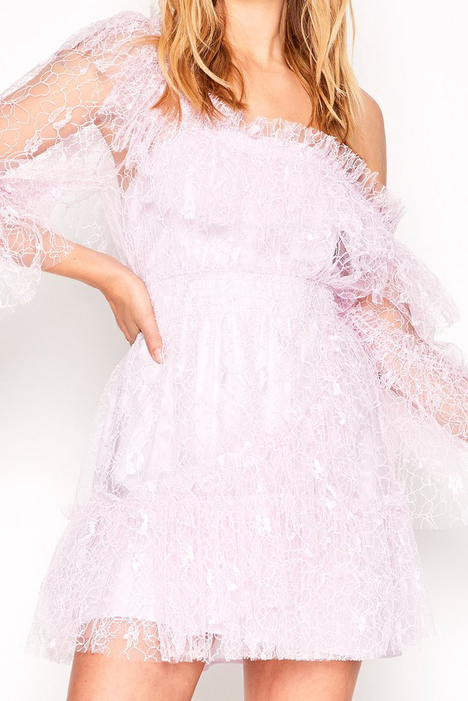 Alice McCall Only Hope Dress Lace Lilac