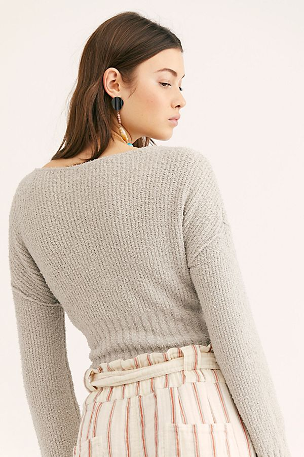 Free People Sensual Wrap Sweater - Room 29