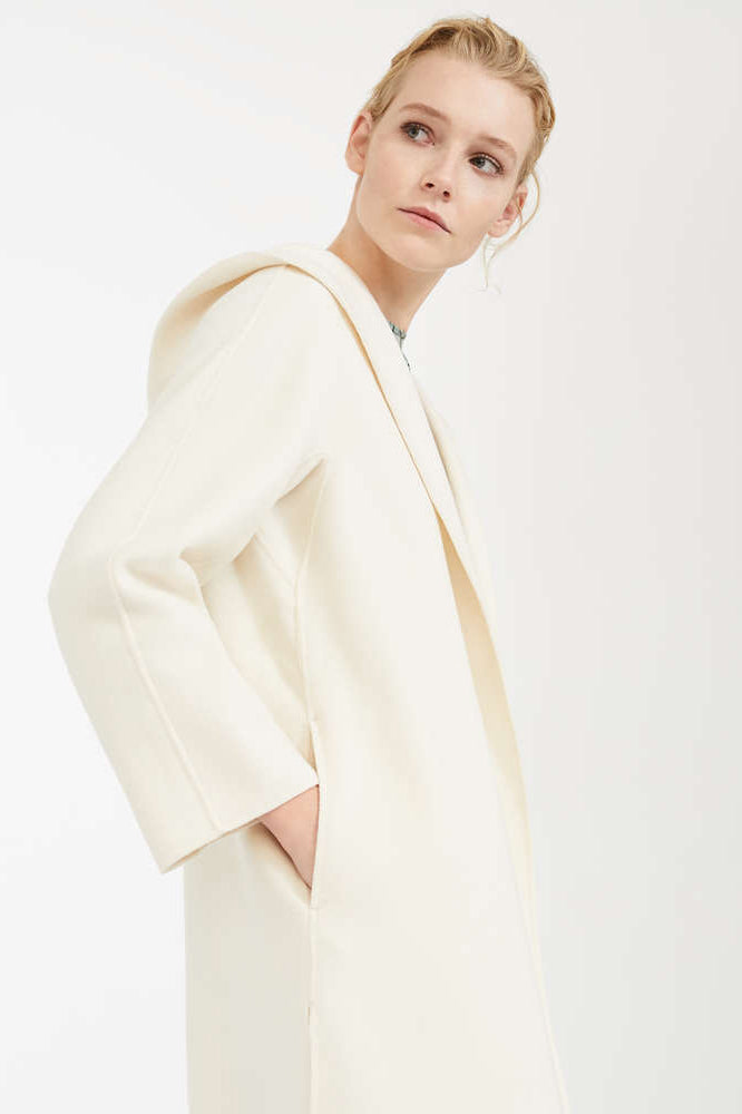Maxmara Euforia Coat White - Room 29