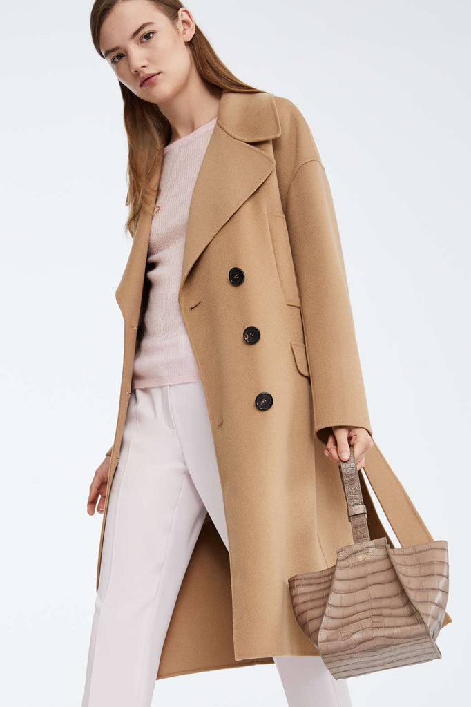 Maxmara 90110591 Caban Coat Camel - Room 29