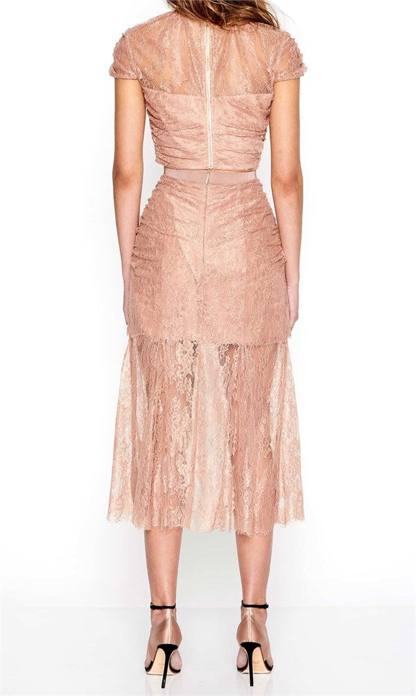 Alice McCall Because You Need Me Skirt Cinnamon - Room 29