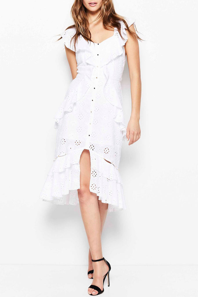 Alice McCall Claire De Lune Dress Porcelain Daisy - Room 29