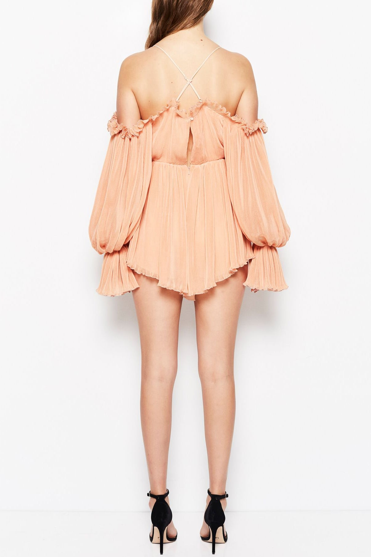 Alice McCall Shake For Me Playsuit Apricot
