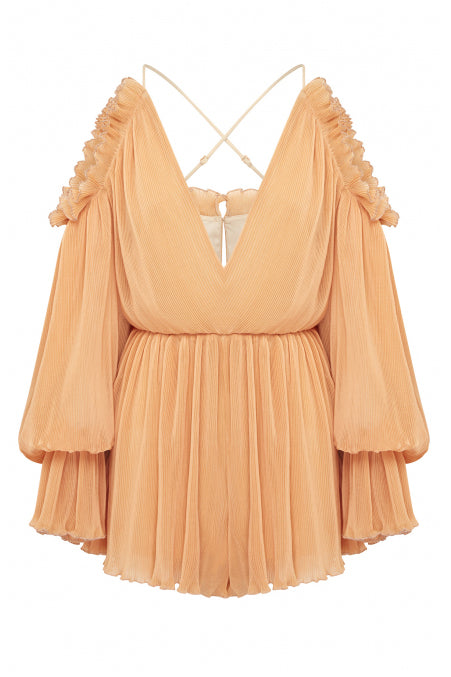 Alice McCall Shake For Me Playsuit Apricot - Room 29