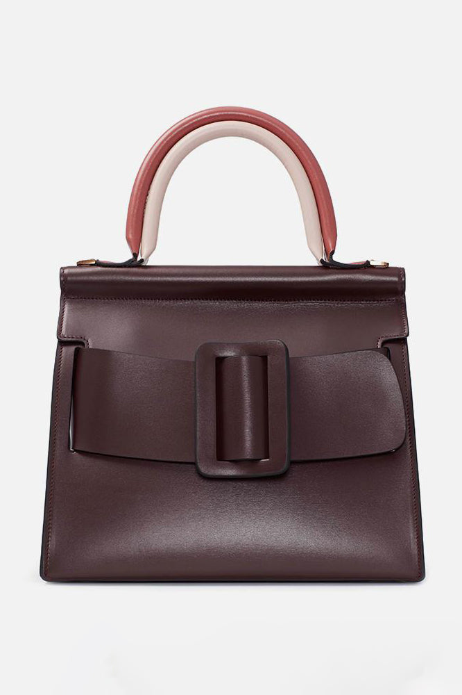 Boyy Handbag Karl Double Handle Bordeaux - Room 29