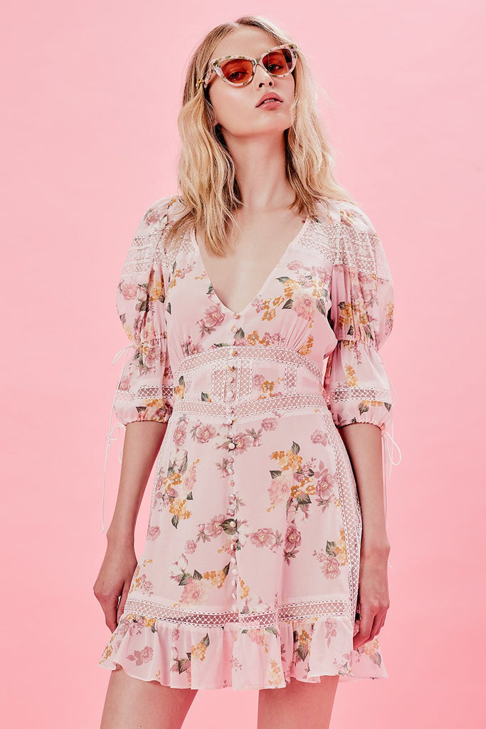 For Love & Lemons Isadora Mini Dress - Room 29