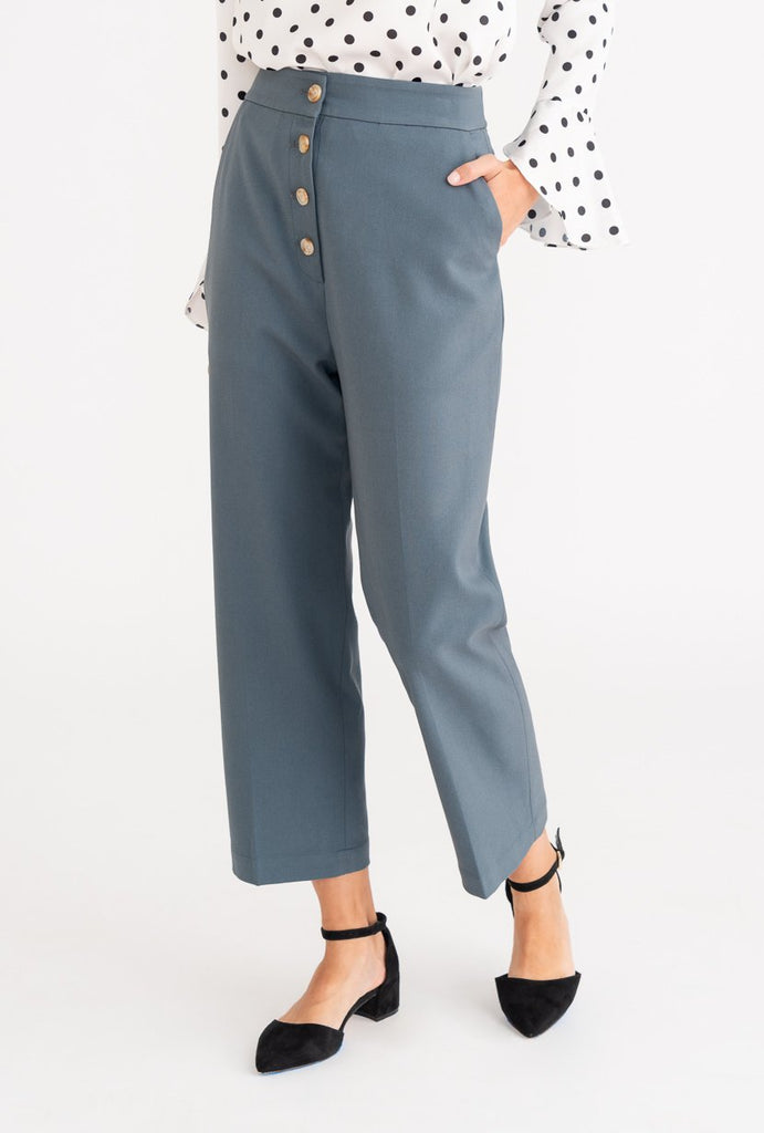 Petite Studio Veda Pant Dusty Blue