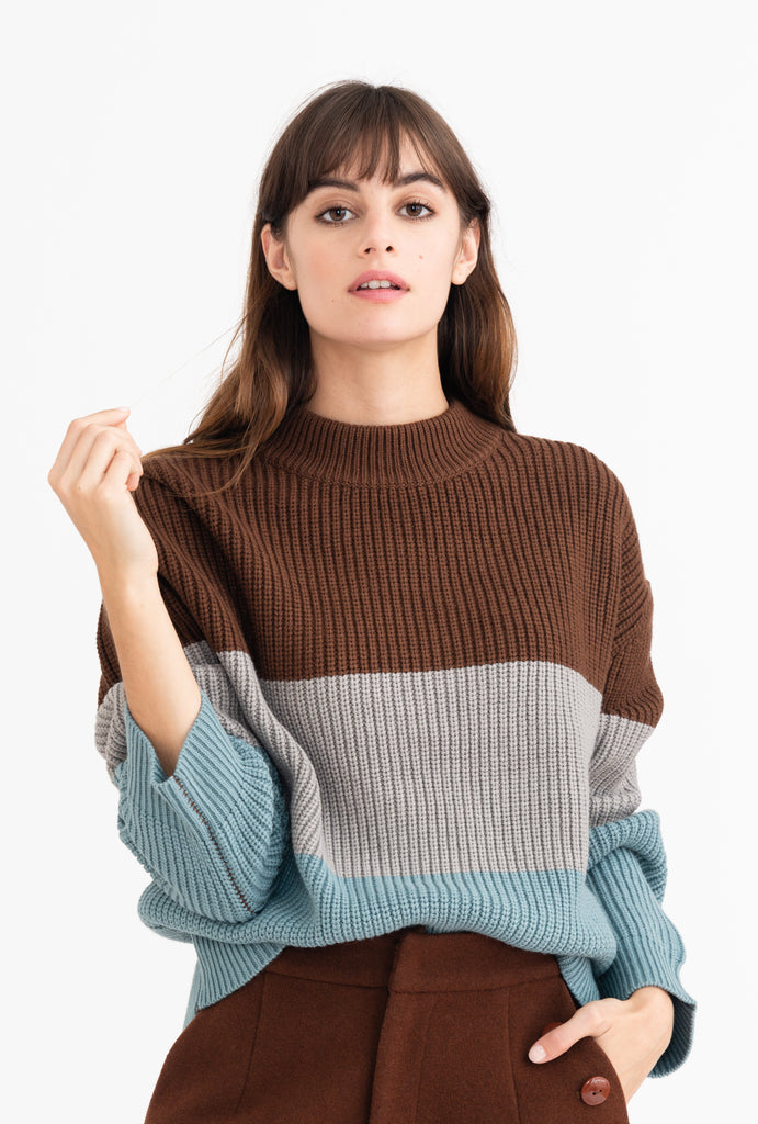 Petite Studio Cali Knit Sweater - Room 29