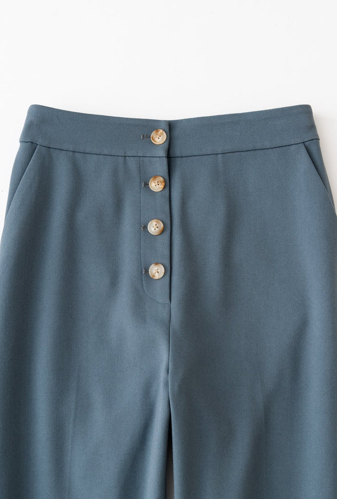Petite Studio Veda Pant Dusty Blue - Room 29