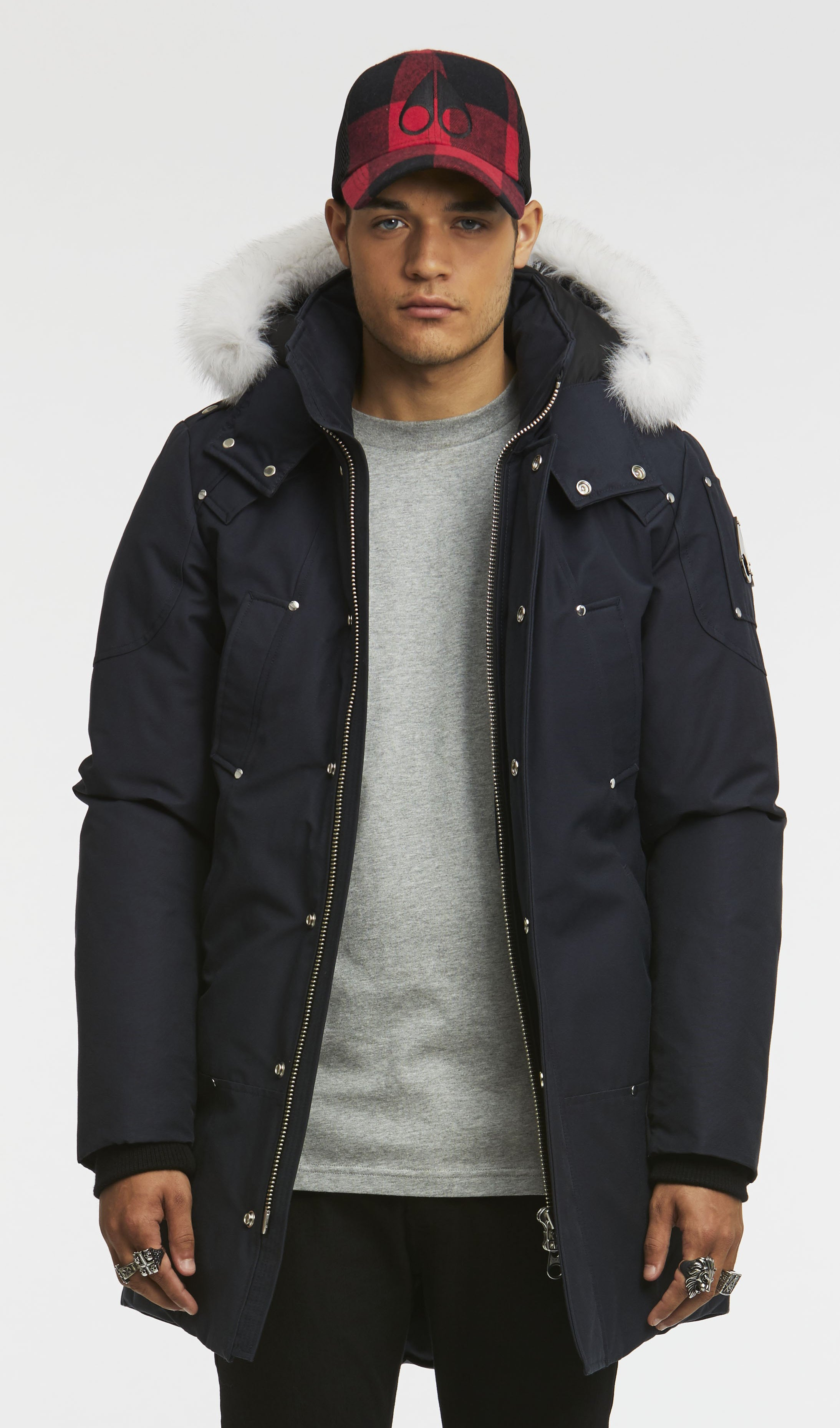 Moose Knuckles Stirling Parka Men Navy