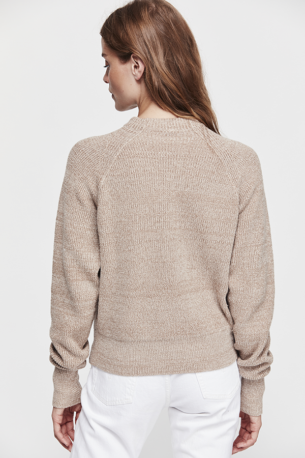 Free People Too Good Pullover Neutral - Room 29