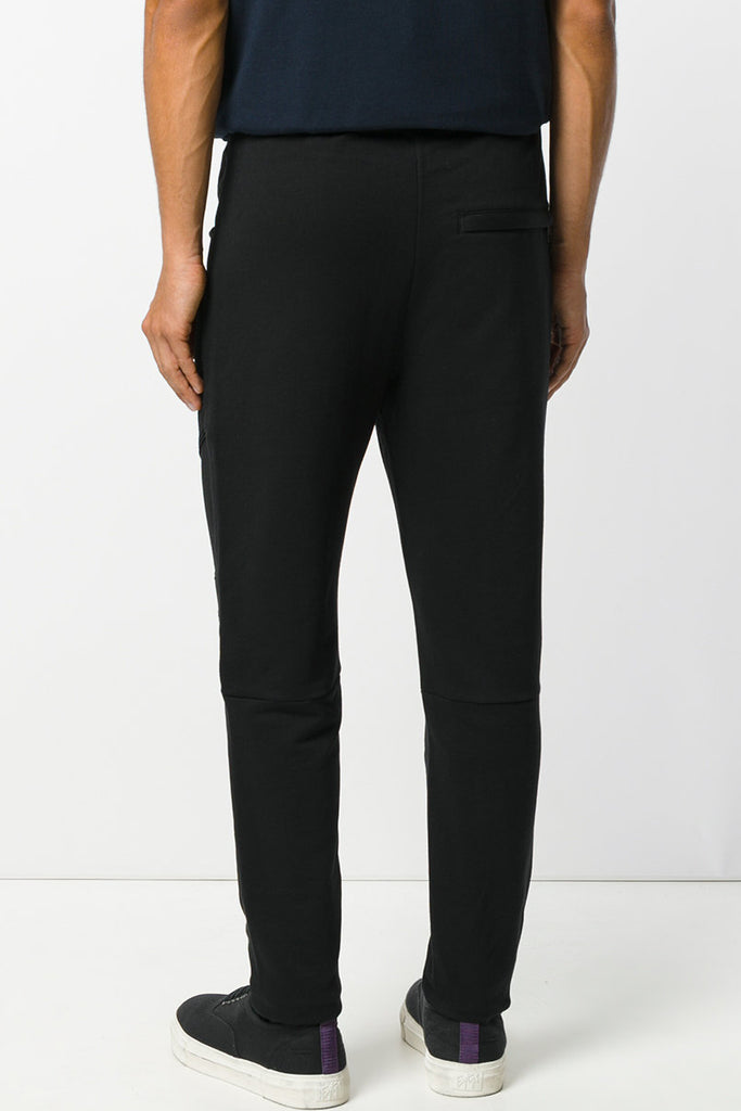 Pierre Balmain Black Classic Biker Sweatpants - Room 29