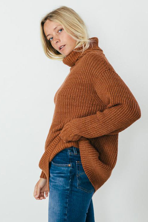 Free People Eleven Sweater Cocoa - Room 29