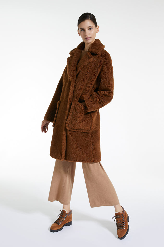 MaxMara Weekend Reale Short Coat Caramel