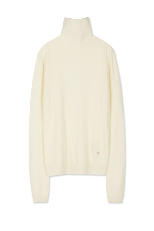 Andersson Bell Maria Fitted Turtleneck Sweater Ivory - Room 29