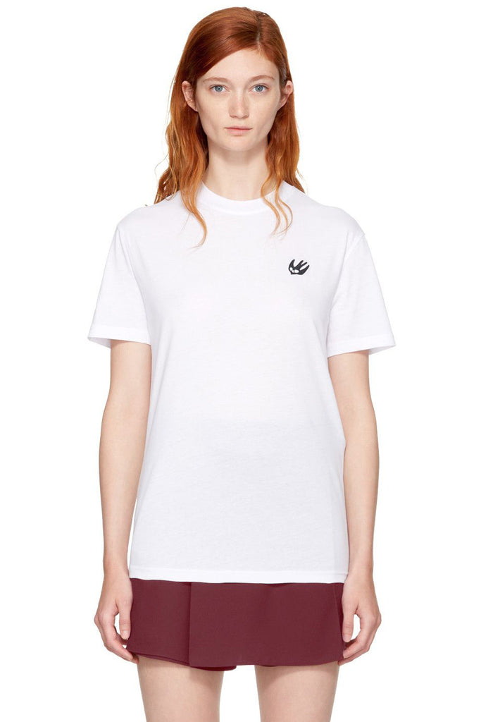 MCQ Classic T-Shirt Swallow Badge White - Room 29