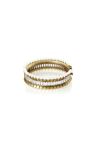 Yun Yun Sun Floating Pearl Bangle