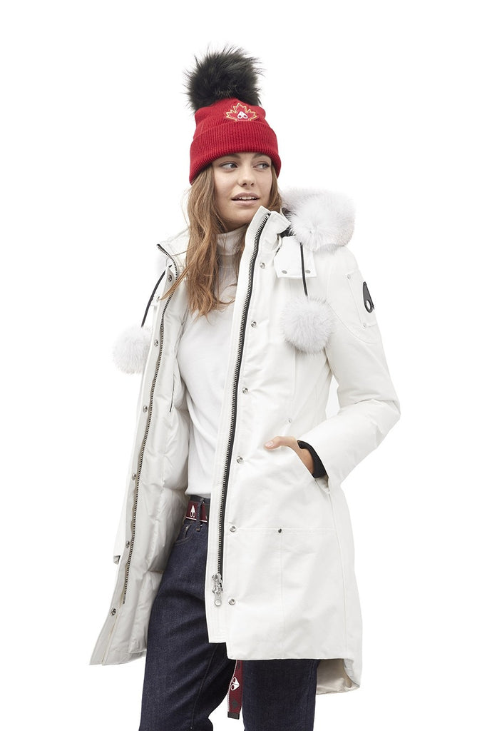 Moose Knuckles Stirling Parka LDS Snow White - Room 29