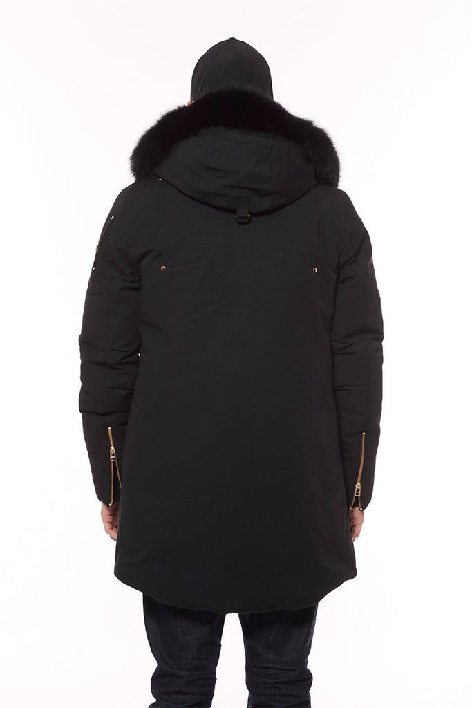 Moose Knuckles Corner Brook Parka Black/Black Fur - Room 29
