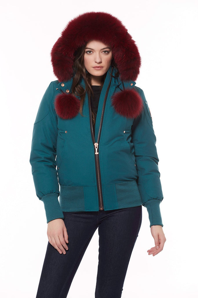 Moose Knuckles Yorkdale Bomber Green Ash - Room 29