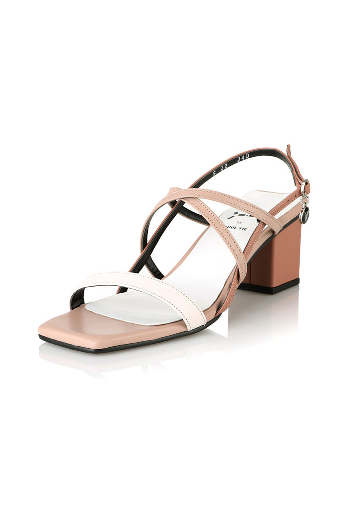 Yuul Yie S22 Petal Capture Strap Sandal Gradation Rosy - Room 29