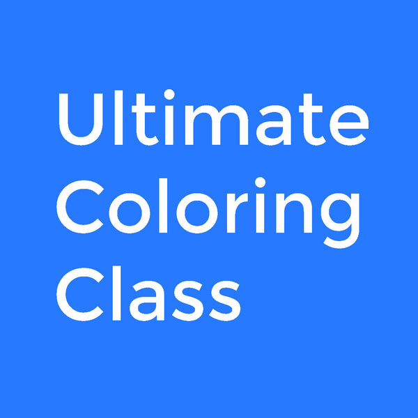 Ultimate Coloring Class Pro Plan (6 month Installment)