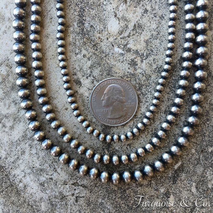 6mm Navajo Pearls