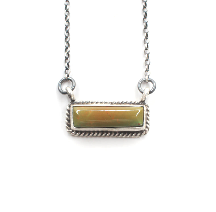 Kingman Bar Necklace