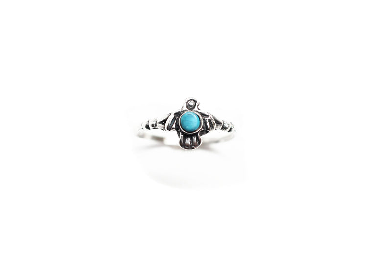 Tiny Thunderbird Ring