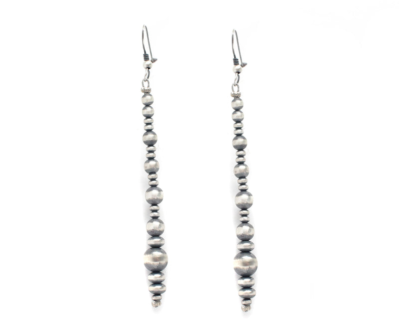 "3 1/2"" Navajo Pearl Earrings"