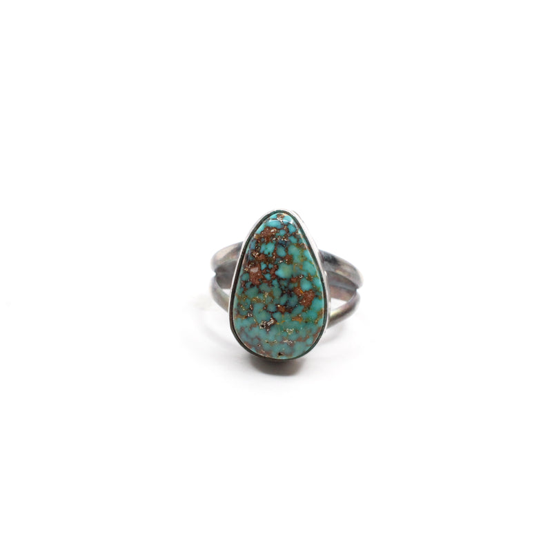 Simple Turquoise Ring (4 1/2)
