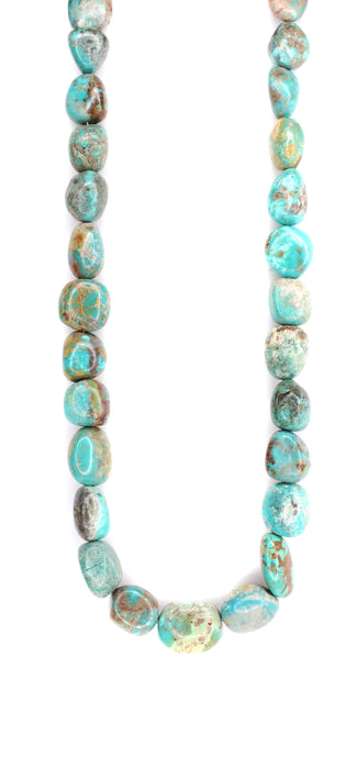 "30"" Large Turquoise Necklace"