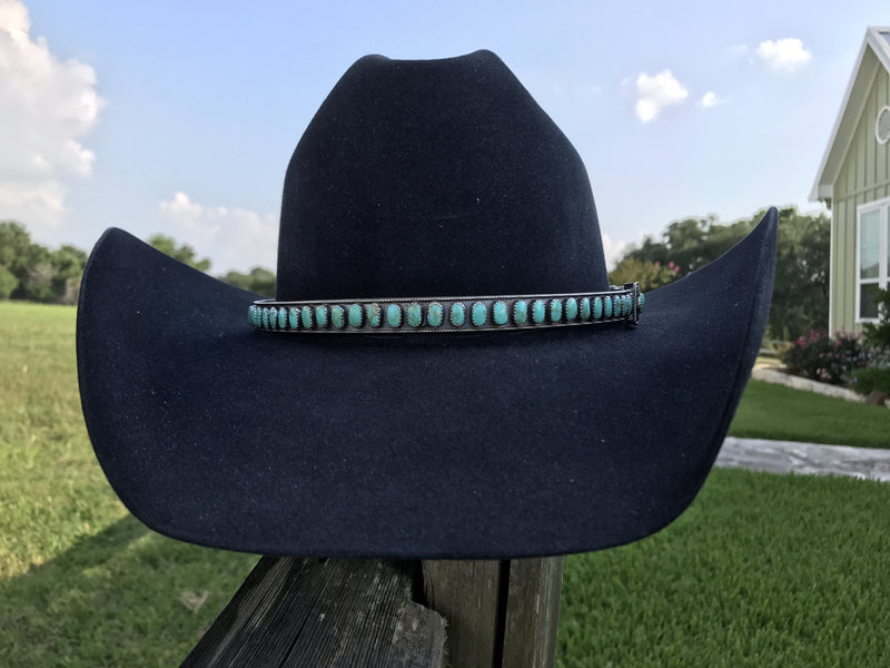 Turquoise Hat Band