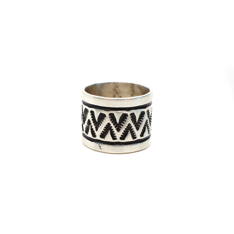 Navajo Rug Pattern Ring (6 1/2)