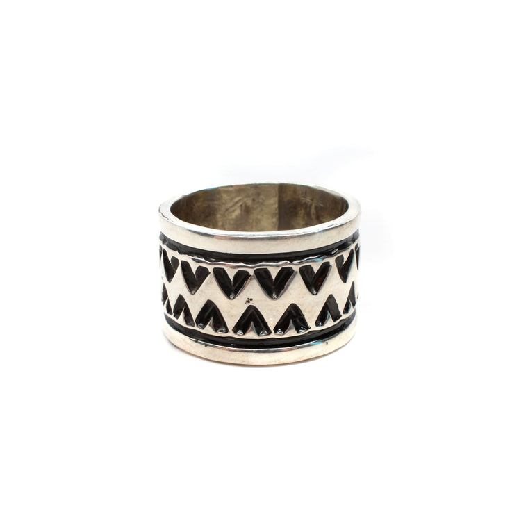 Navajo Rug Pattern Ring (9)