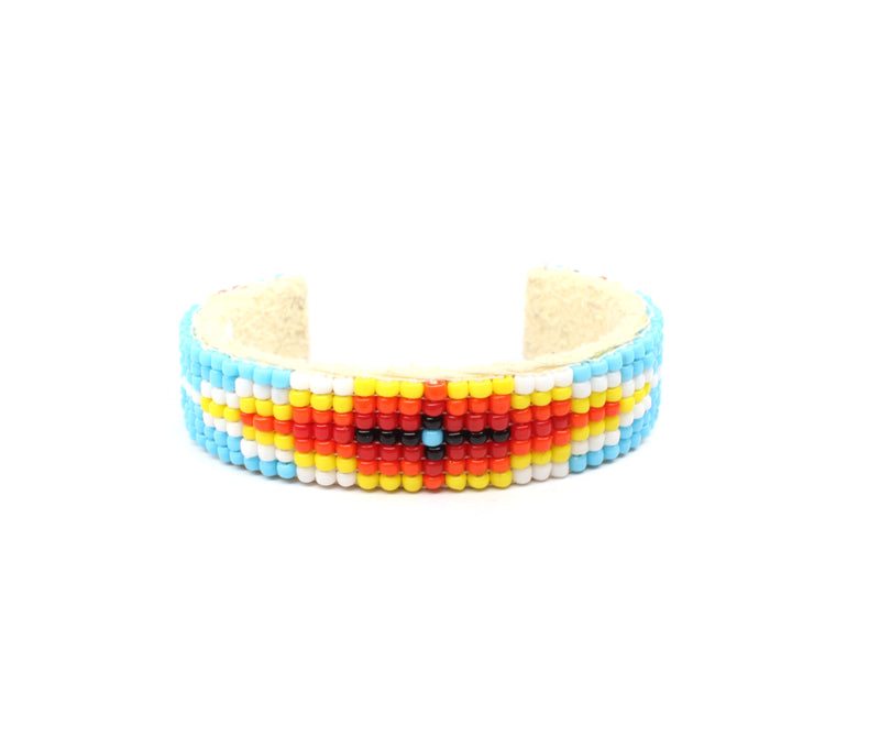 The Tinley Beaded Baby Cuff