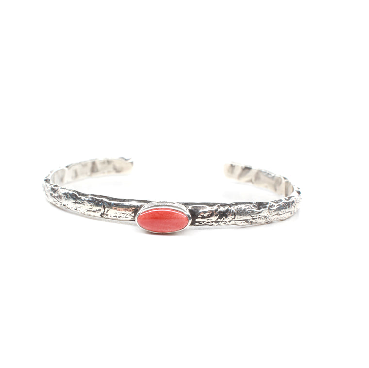 The Kaycee Cuff - Red Spiny Oyster