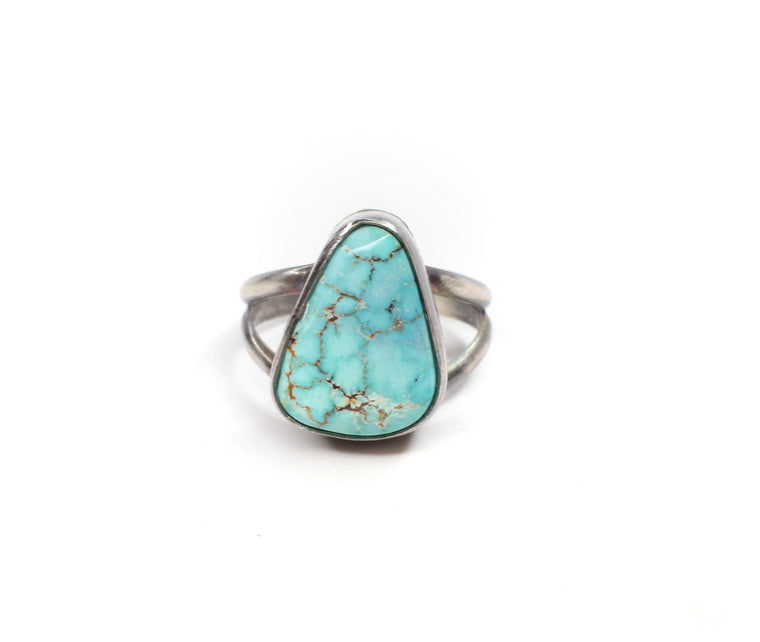 Simple Turquoise Ring (5 1/2)