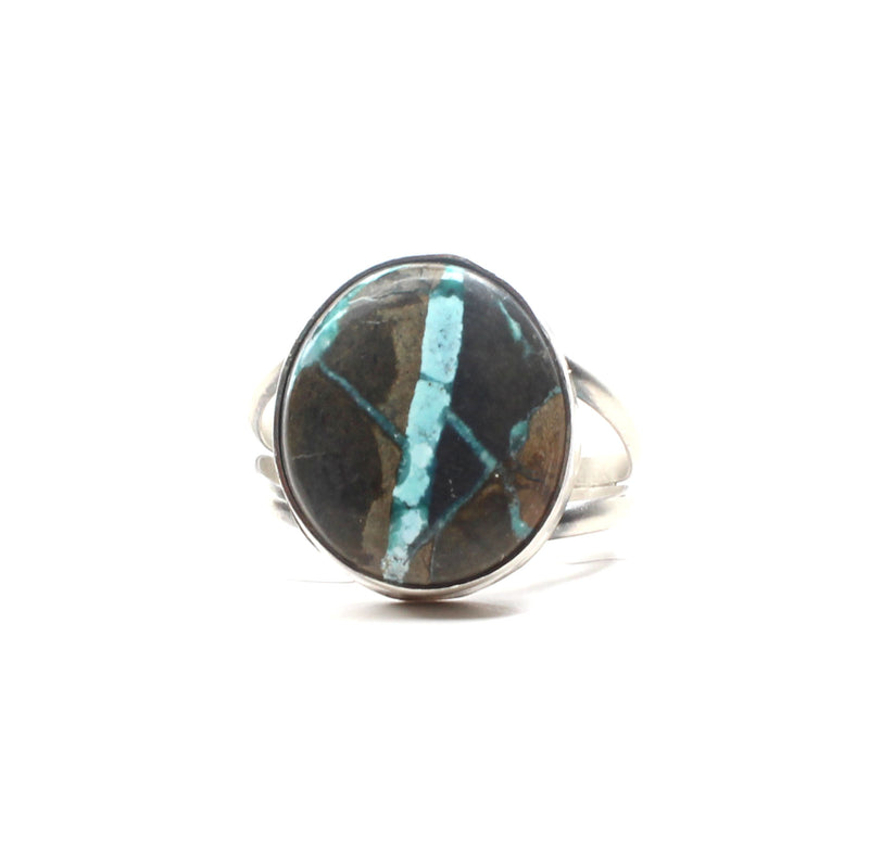 Simple Turquoise Ring (9 1/2)