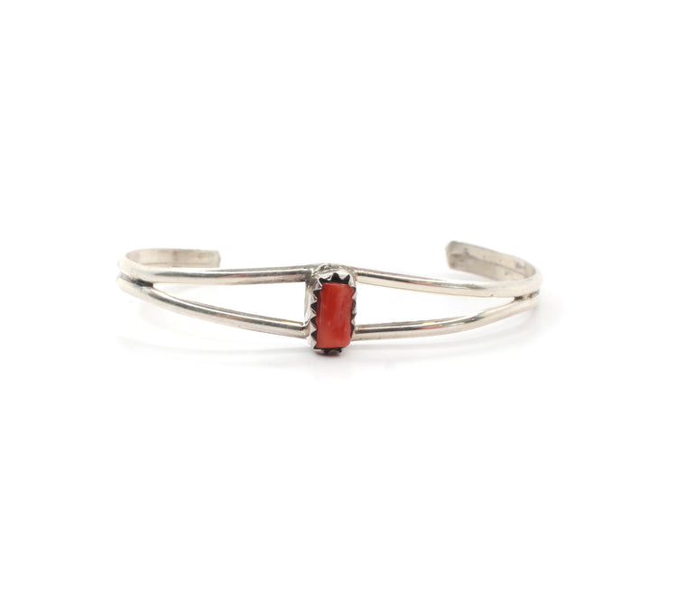 The Maine Baby Cuff - Coral