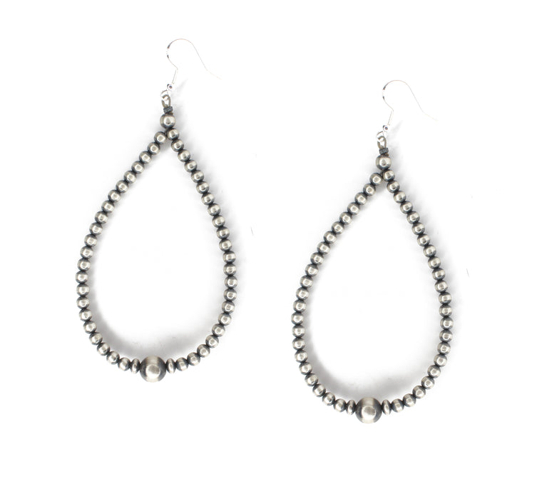 "4"" Navajo Pearl Earrings"