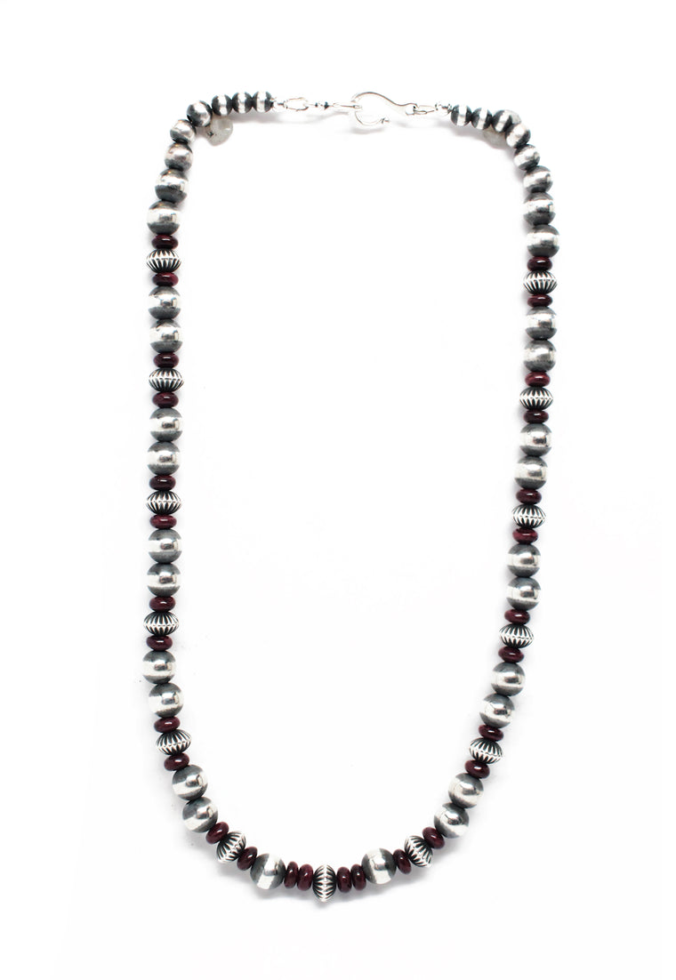 Navajo Pearls - Purple Spiny Oyster (18
