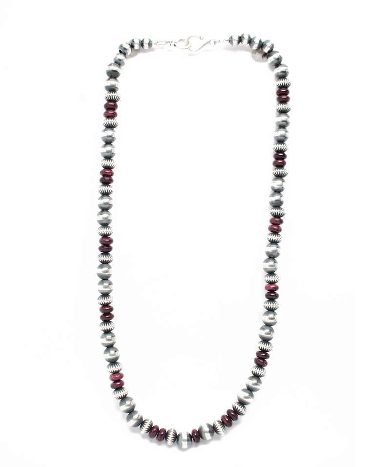 Navajo Pearls - Purple Spiny Oyster (20