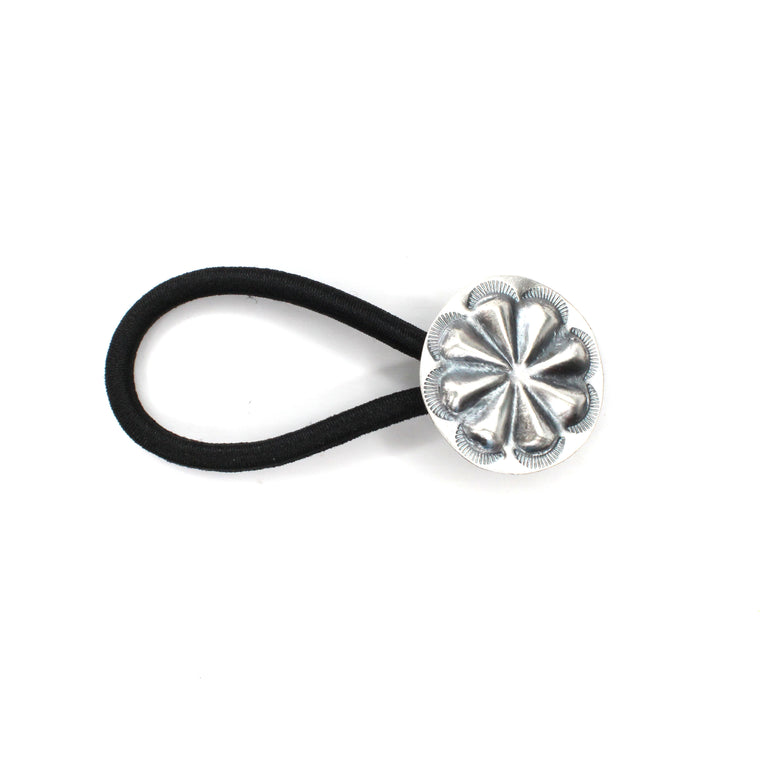 Small Concho Hair Tie - Round