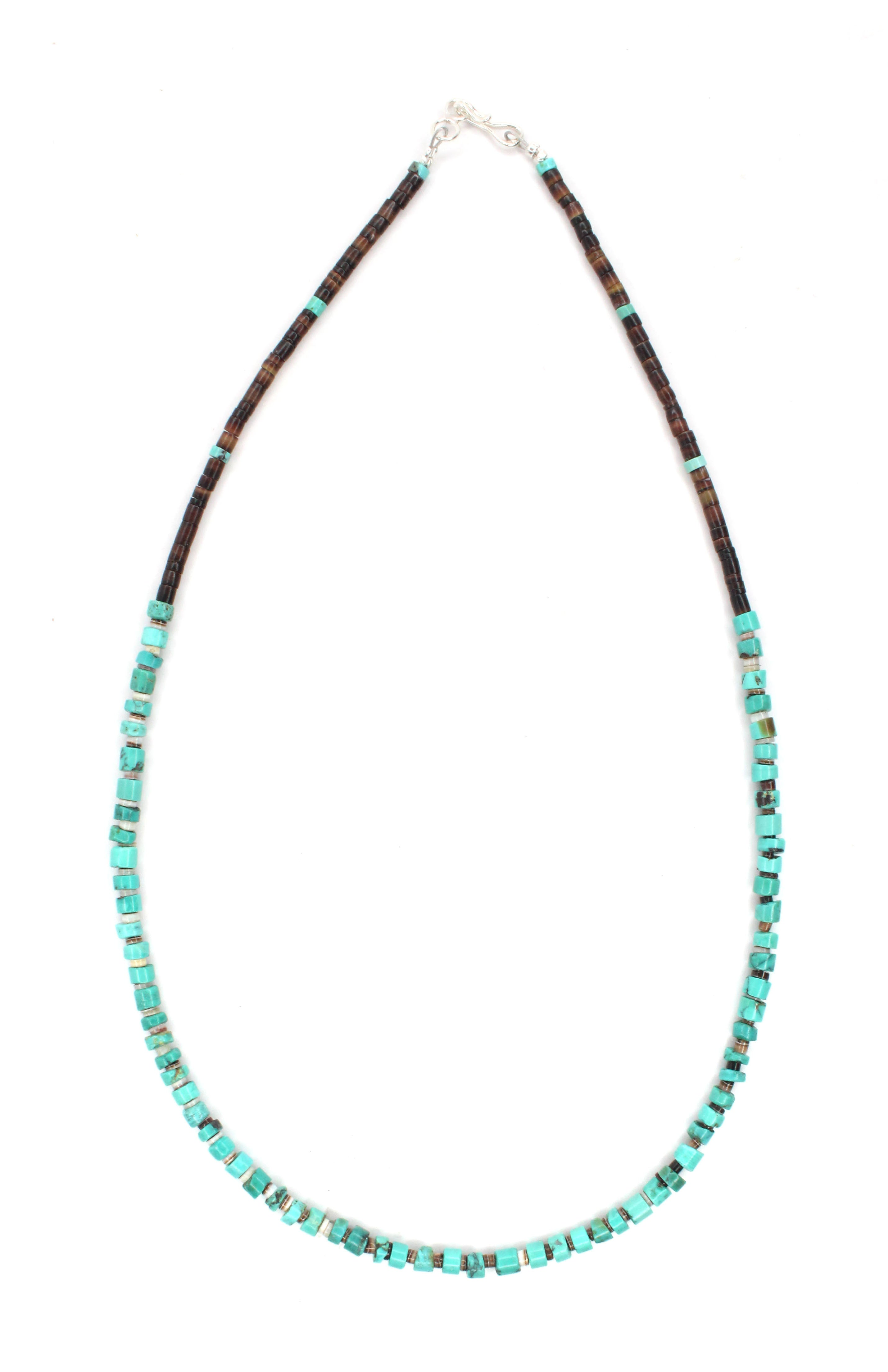 Turquoise Necklace 18""